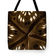 Center Of Star  Tote Bag