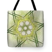 Center Of The Star Tote Bag