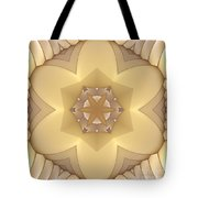 Center Star-flower Tote Bag