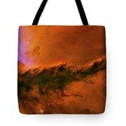 Center - Triptych - Stellar Spire In The Eagle Nebula Tote Bag