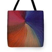 Centered Oil Swirls Tote Bag