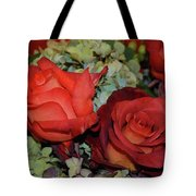Centerpiece Roses Tote Bag