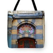 Centers Of Flowers Tote Bag