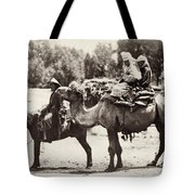 Central Asian Travelers Tote Bag