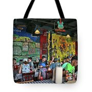 Central B B Q # 2- Memphis Tote Bag