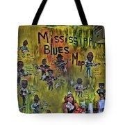 Central B B Q # 3- Memphis Tote Bag