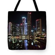 Central Business District, Singapore Tote Bag