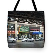 Central Camera On Wabash Ave  Tote Bag