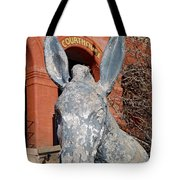 Central City Courthouse Donkey Tote Bag