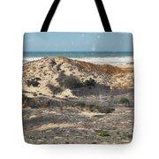 Central Coast Sand Dunes Tote Bag