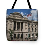 Central Library Milwaukee Tote Bag