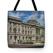 Central Library Milwaukee Full View Tote Bag