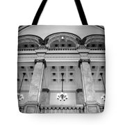 Central Library Milwaukee Interior Bw Tote Bag