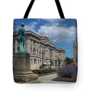 Central Library Milwaukee Street View Tote Bag