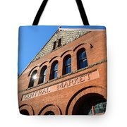 Central Market Lancaster Pennsylvania Tote Bag