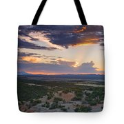 Central New Mexico Sunset Tote Bag