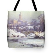 Central Park Tote Bag by Colin Campbell Cooper