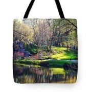 Central Park Colors Tote Bag