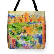 Central Park From The Carlyle Tote Bag