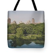Central Park In Summer Tote Bag