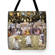 Central Park  New York City  July Fourth  Tote Bag