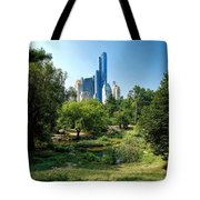 Central Park Ny Tote Bag