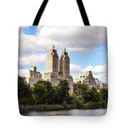 Central Park Reservoir  Tote Bag