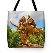 Central Park Sculpture-general Sherman Tote Bag