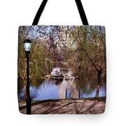 Central Park Sidewalk Tote Bag