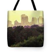 Central Park Skyline Tote Bag