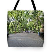 Central Park The Mall Tote Bag