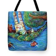 Central Park West Tote Bag