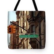 Central Park West Tote Bag by Madeline Ellis