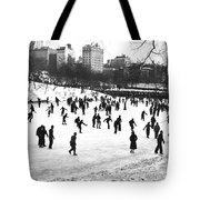 Central Park Winter Carnival Tote Bag