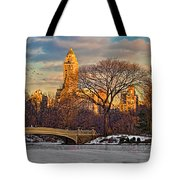Central Parks Famous Bow Bridge Tote Bag