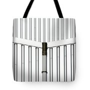 Central Rain Pipe Tote Bag