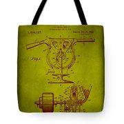 Centrifugal Gun Patent Drawing 3j Tote Bag
