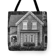 Century Home - Bw Tote Bag