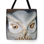 Ceramic Owl. Tote Bag