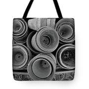 Ceramic Pots Bw Tote Bag