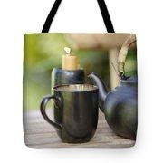 Ceramic Tea Set Tote Bag