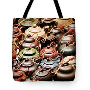 Ceramic Teapots Tote Bag