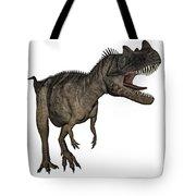 Ceratosaurus Dinosaur Roaring Tote Bag