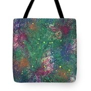 Cerebral Rhapsody During A Neurofeedback #580 Tote Bag