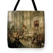 Ceremonial Reception Tote Bag by Adolf Jossifowitsch Charlemagne