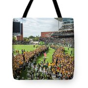 Ceremonial Running Of The Baylor Line Tote Bag