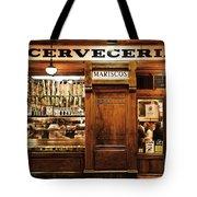 Cerveceria Tote Bag
