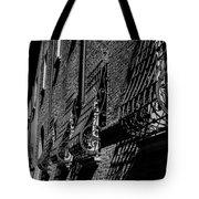 Cesena In Black And White Tote Bag
