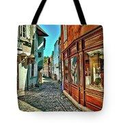 Cesky Krumlov Alley Tote Bag