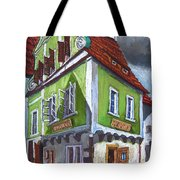 Cesky Krumlov Old Street 3 Tote Bag